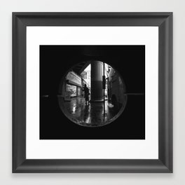 Dublin Bin (Bin Shot Series) Framed Art Print