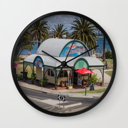 Peters Sunset Kiosk Wall Clock