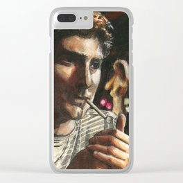Christopher Clear iPhone Case