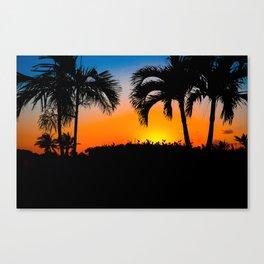 Sunset in Nassau Canvas Print
