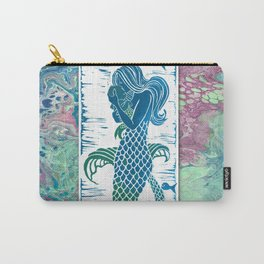 A Mermaids true love Carry-All Pouch