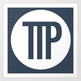 Tall Tale Abbreviated Logo Art Print