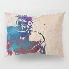 American football player 1 #footbal #sport Pillow Sham