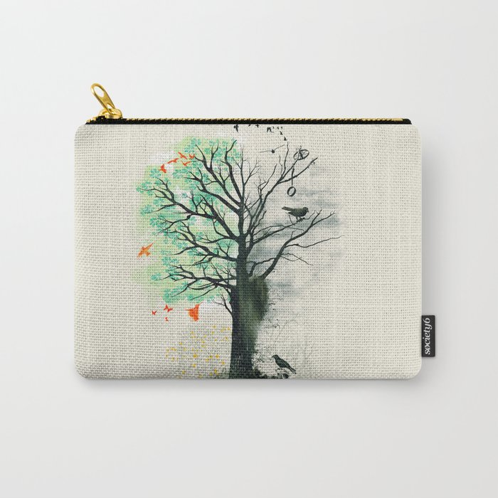 They Loved the Landscape to Death Carry-All Pouch