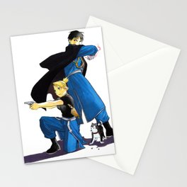 Fullmetal Alchemist - Roy & Riza Stationery Cards