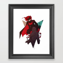 Aquainted With The Night Framed Art Print