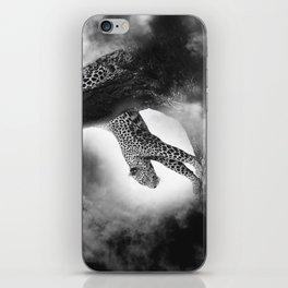 Leopard Night Hunt iPhone Skin