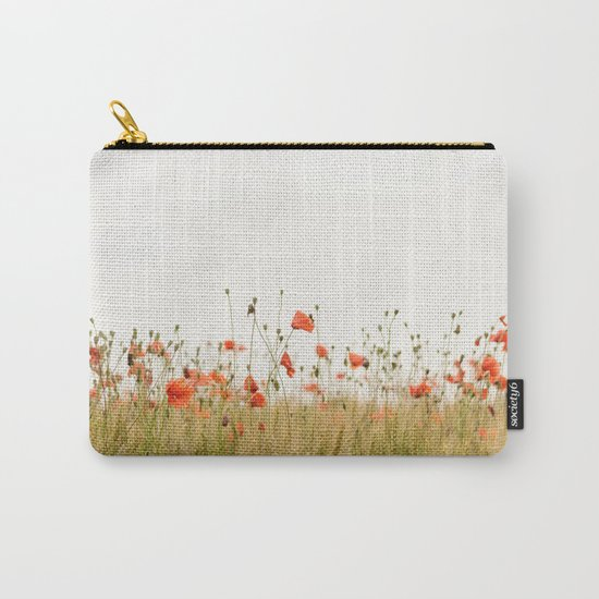 Poppies Coquelicots Carry-All Pouch
