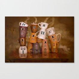 Coffeetime ! Canvas Print