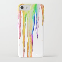 Colorful Icicles iPhone Case
