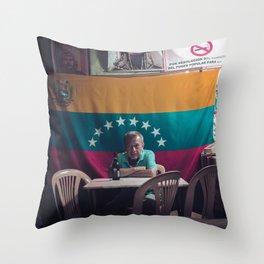 Bar Las Delicias- Caracas - Venezuela Throw Pillow