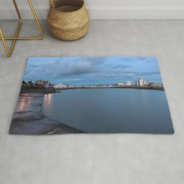 Weston-super-Mare Marine Lake Rug