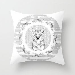Pack of Coyotes Throw Pillow