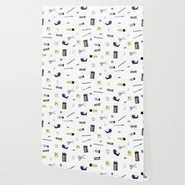 Office Supplies Wallpaper