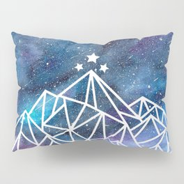 Watercolor galaxy Night Court - ACOTAR inspired Pillow Sham