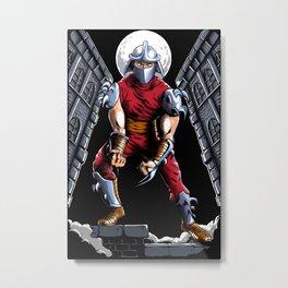 Evil Shredder Metal Print
