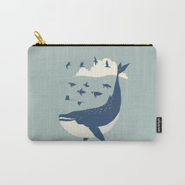 Fly in the sea Carry-All Pouch