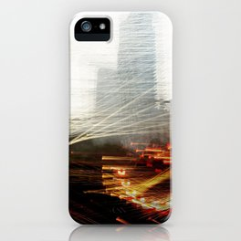 Lights and Tower iPhone Case