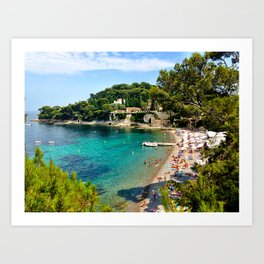 Paloma Beach Art Print