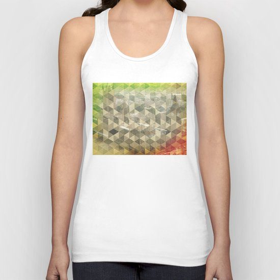 WP pattern Unisex Tank Top