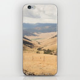 The Montana Collection - Wide Open Spaces iPhone Skin