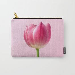 tulip on pink #society6 #decor #buyart Carry-All Pouch