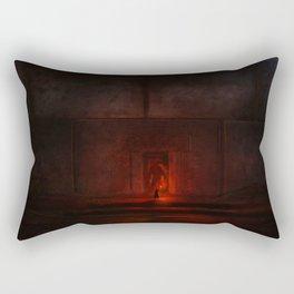 The giant wall Rectangular Pillow