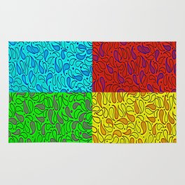 Pop Paisely Rug