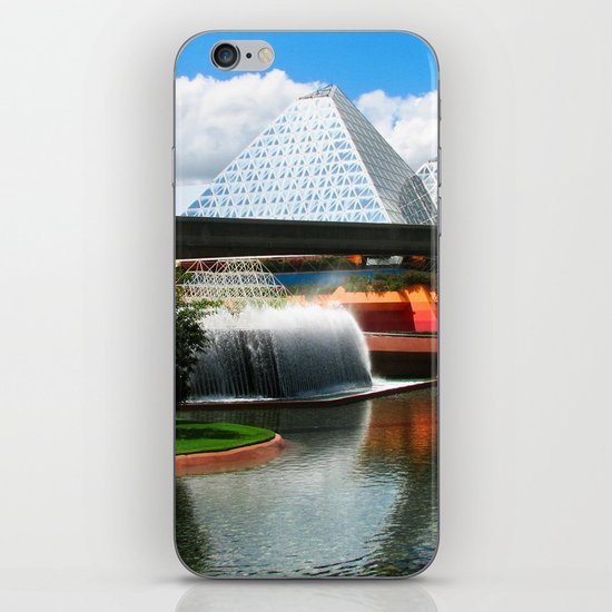 Epcot at Disney World iPhone & iPod Skin