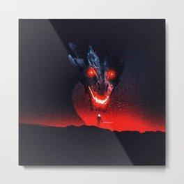 black dread Metal Print