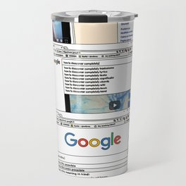 How to disappear Travel Mug