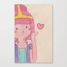 blow kiss Canvas Print