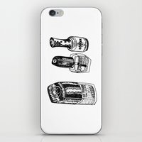 nail polish iPhone & iPod Skins featuring Nail Polish by BUMMERAMA