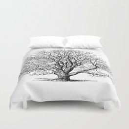 oak tree botanical no2 Duvet Cover