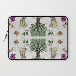 Tree Circle of Life Botanical Watercolor Laptop Sleeve