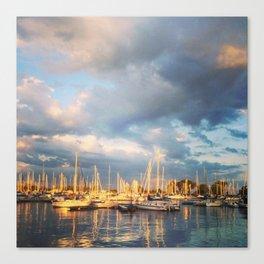Montrose Harbour Canvas Print