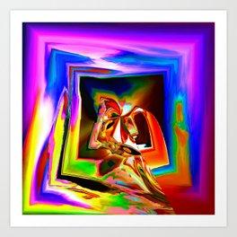 Confluence Art Print