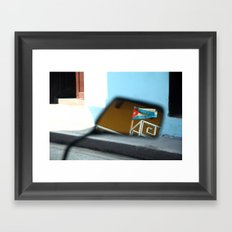 Colores de La Habana Framed Art Print