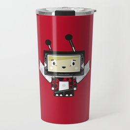 Cute Cartoon Blockimals Ladybird Travel Mug