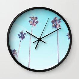 Palms Good Vibes Wall Clock