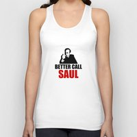 better call saul Tank Tops featuring Better Call Saul  by Freak Clothing