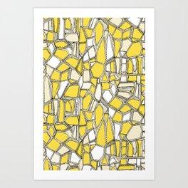 BROKEN POP lemon Art Print