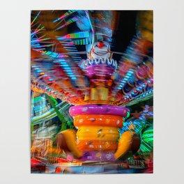 Cray Cray crazy fun at the carnival Poster
