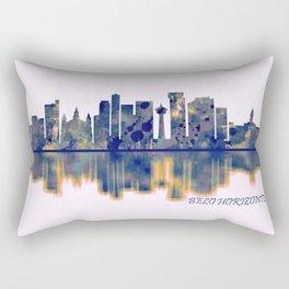 Belo Horizonte Skyline Rectangular Pillow