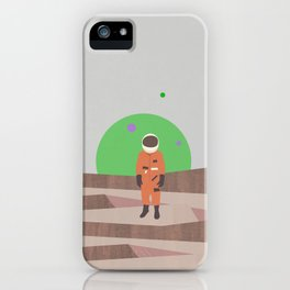 Marooned Astronaut iPhone Case