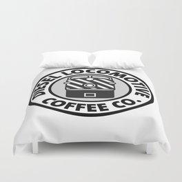 Diesel Locomotive Coffee Co. Duvet Cover