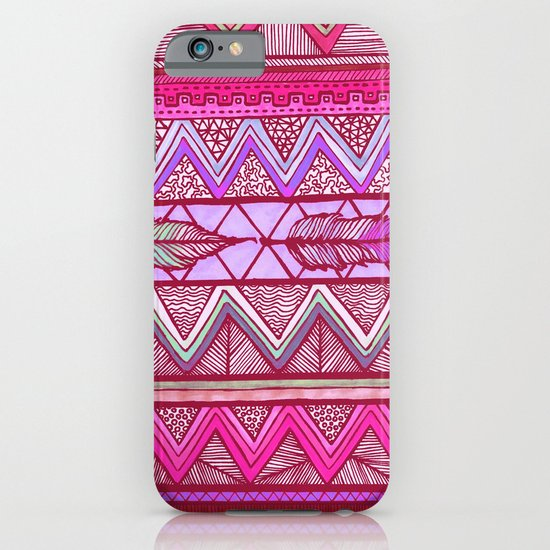 Two Feathers Two... iPhone & iPod Case