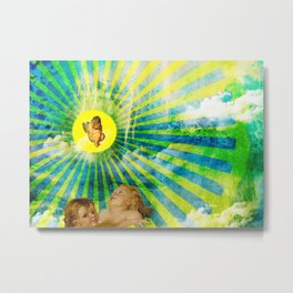 Birth of an angel  Metal Print