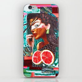 Kissed by the sun iPhone Skin