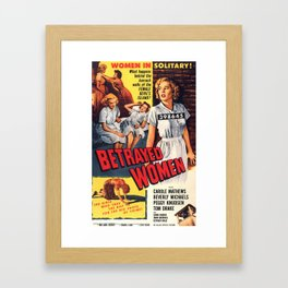 Betrayed Women Framed Art Print